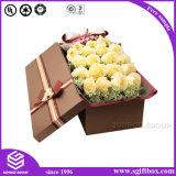 주문 호화스러운 결혼식 꽃 포장 상자