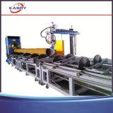 Het Type van Bed van de rol om CNC van de Pijp de de Scherpe Lijn van de Vlam van het Plasma/Snijder van de Schuine rand van de Pijp
