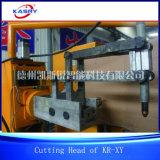 KrX-Y 5つの軸線CNCの金属の管血しょうガス切断機械