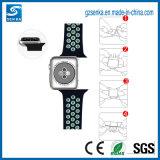 Costume da faixa de pulso do silicone de 2017 produtos novos para a cinta do esporte do relógio de Apple