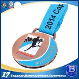 亜鉛合金は柔らかいエナメルが付いているメダルを遊ばす
