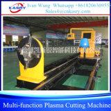 Máquina de chanfradura da estaca do plasma do CNC de Kasry para as câmaras de ar e os perfis das tubulações