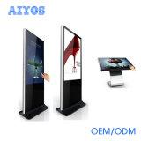 表示を広告する1つのHD 1080P LCDの対話型のタッチ画面デジタルのアンドロイドすべて