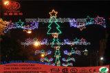 Lumière extérieure de décoration de vacances de rue de DEL