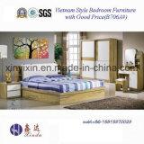 Vietnam Muebles de madera Muebles de dormitorio con armario empotrado (# B706A)