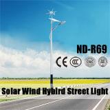 Venta caliente híbrida de las luces de calle del viento solar de Nande