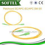 Sc/APC 광섬유 접속 코드