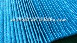 Filtros plissados e pré filtro de papel descartáveis