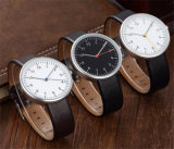 Relojes de encargo 2016 del asunto del movimiento de Japón del cuero del reloj de los hombres del calendario de la fecha de la marca de fábrica de la fábrica Yxl-391