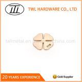 4葉のクローバーの合金のハードウェア袋か財布または札入れの装飾のアクセサリ