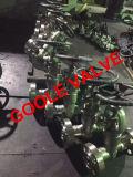 l'acciaio forgiato ad alta pressione 900lb/1500lb/2500lb ha flangiato valvola a saracinesca del dispositivo di tenuta a pressione (GAZ61H)