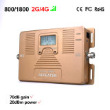 Bestes signal-Verstärker Lte DCS des Preis-Handy-2g 4G Doppelband800/1800 MHZ-Signal-Verstärker
