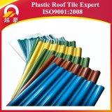 Dauerhafte Farbe Asapvc Antiaushärtungs-Dach-Fliese