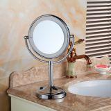 Espelhos de vidro de espelho de vidro de mesa de 8 polegadas de polegada