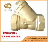 Bsp Theaded, das y-Typen Filter/Gefäß-Filter anschließt