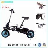 CE 12-Inch 1 секунда складывая электрические Bike/велосипед