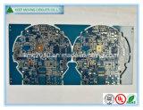 PWB de múltiples capas del oro de la inmersión de la tarjeta de circuitos impresos BGA