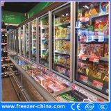 Congelador superior combinado de la parte inferior del refrigerador para el congelador de la bebida y del alimento congelado