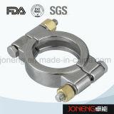 Abrazadera de alta presión de la categoría alimenticia del acero inoxidable (JN-CL1005)
