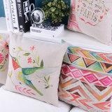 La impresión almohadilla del cuadrado de 18 pulgadas cubre decorativo para la sala de estar