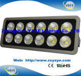 Luz quente do túnel do diodo emissor de luz do diodo emissor de luz Floodlight/COB 100W da inundação Light/100W do diodo emissor de luz do Sell 100W de Yaye 18 com Ce/RoHS