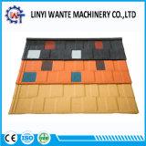 Tipo telha da telha de telhado revestida do metal da pedra do material de construção