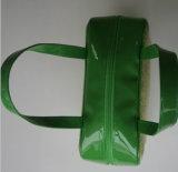 Bolso de las señoras de la manera con la paja y el PVC