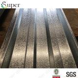 Лист Decking стального пола Собственн-Поддерживает лист гофрированный Decking стальной