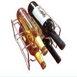 Crémaillère décorative de vin de Steelness de réfrigérateur de présentoir de crémaillère de vin