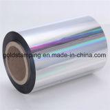 Roulis de bourrage de papier de papier d'aluminium de couleur argentée d'or