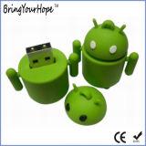 Ручка USB Android формы робота внезапная (XH-USB-005)