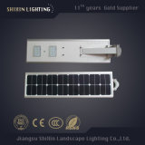 Luz de calle solar integrada de 20 vatios LED toda en una (SX-YTHLD-02)