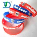 Wristbands del silicone di alta qualità con molti generi di stili della fascia