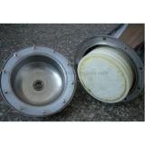 Esterilização 300L/H peculiar do aço inoxidável de filtro de água do Ultrafiltration
