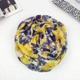 Scarf de meilleure de Flourish Madame en gros de vente (HWBPS030) de polyester