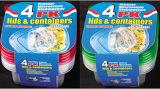 La plastica di Sqaure toglie il contenitore di alimento di Microwavable 34oz