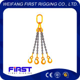 Оборудование такелажирования высокого качества определяет грузоподъемную цепь 4 ног