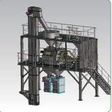 簡単で、コンパクトな構造コンテナに詰められた特別な乾燥した乳鉢の生産ライン