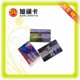 Cartão impresso sem contato do PVC da alta qualidade da impressão de Offseting