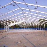 Tente imperméable à l'eau d'événement d'exposition d'envergure claire grande avec les murs en verre