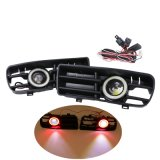 El ángel rojo diurno 1998-2004 de las luces de niebla de la luz corriente DRL de Golf4 Gti Tdi R32 Mk4 LED Eyes la parrilla de la parrilla de los parachoques delanteros
