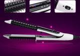 2 em 1 Straightener e encrespador do cabelo ao estilo de cabelo feito
