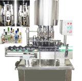Máquina tampando de alumínio automática para o frasco de vidro