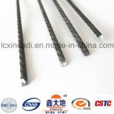 costillas de alta resistencia del espiral del carbón de 4.6m m altas que pretensan el alambre concreto