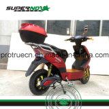 Motociclo elettrico con il blocco per grafici d'acciaio