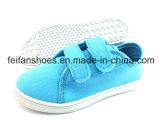 純粋なカラー子供の注入のズック靴の偶然靴(FFZL1230-10)