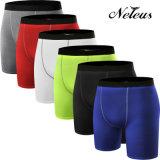 L'usura respirabile Legging di ginnastica di Shorts di compressione degli uomini di Neleus ansima Dk0043