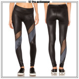 Calças de compressão Leggings Women Sports Training Gym Wear