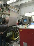 Estirador de tornillo plástico del gemelo de la máquina del azulejo de mármol artificial de la hoja del PVC