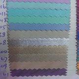 Cuir à la mode de tissu synthétique d'unité centrale de vêtement (HS-GM03)